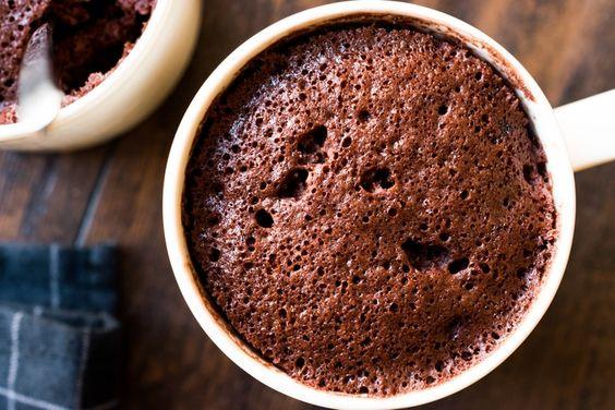 comment faire un mug cake au chocolat
