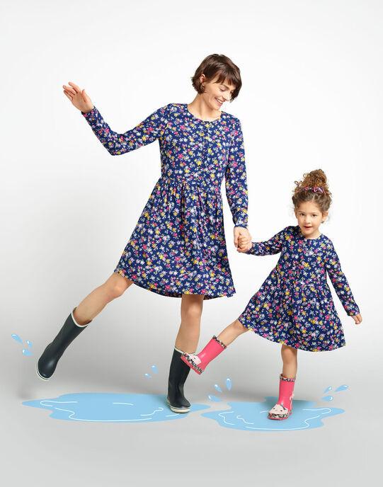Mère et fille habillées pareil