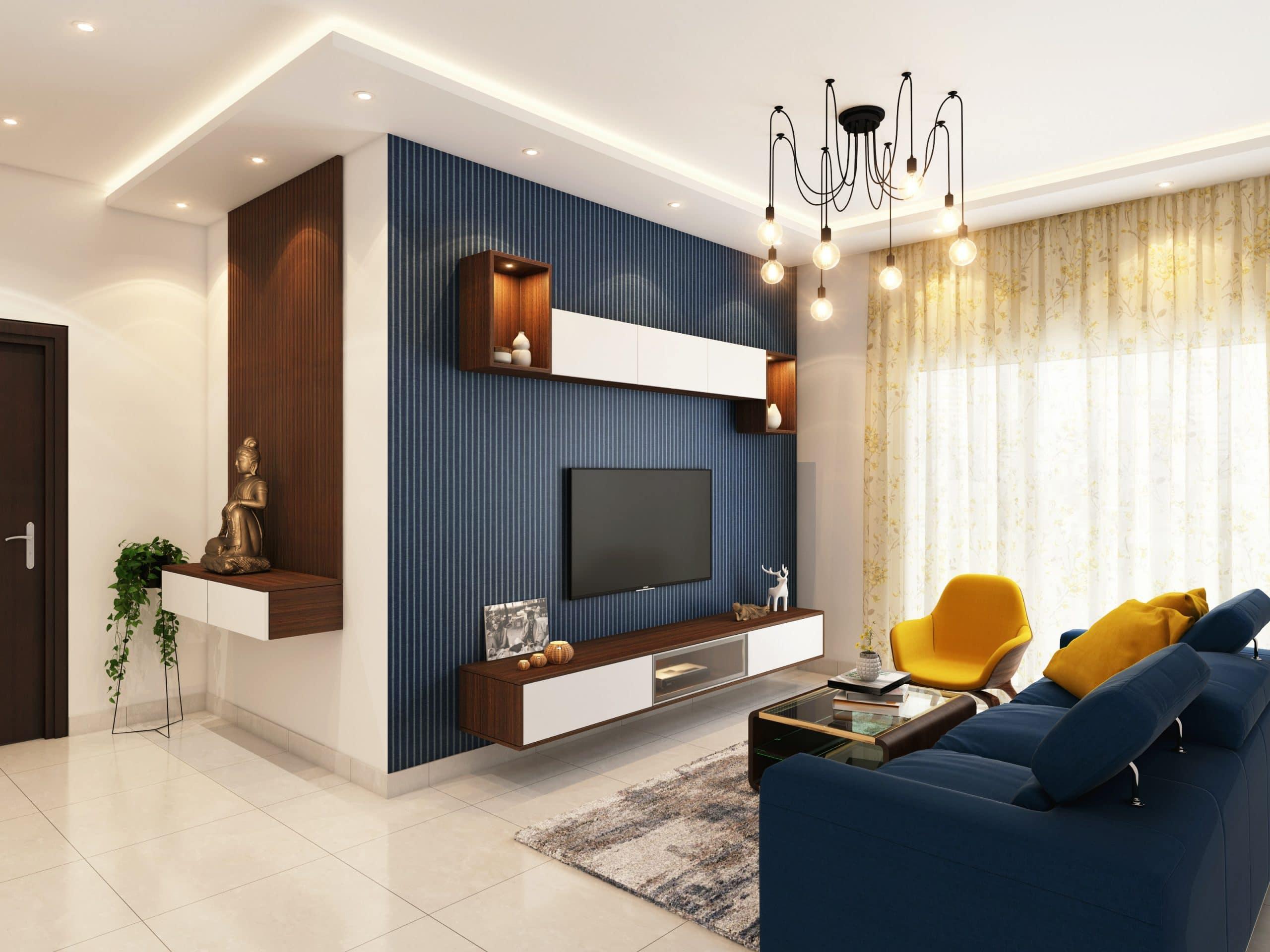 Décoration d'un salon cosy avec les bons luminaires